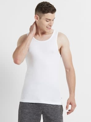 White Vest Pack of 2