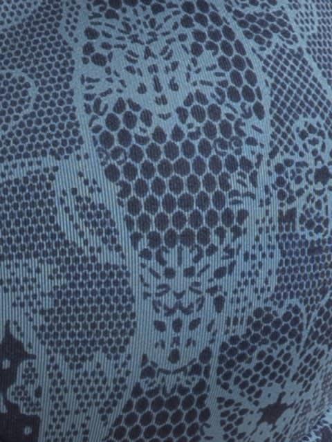 Navy Blazer Printed Wired T-Shirt Bra
