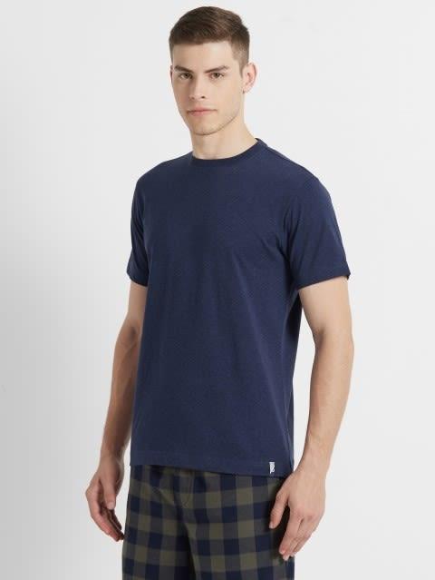 Ink Blue Melange Sport T-Shirt