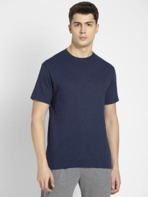 Ink Blue Melange Sport T-Shirt