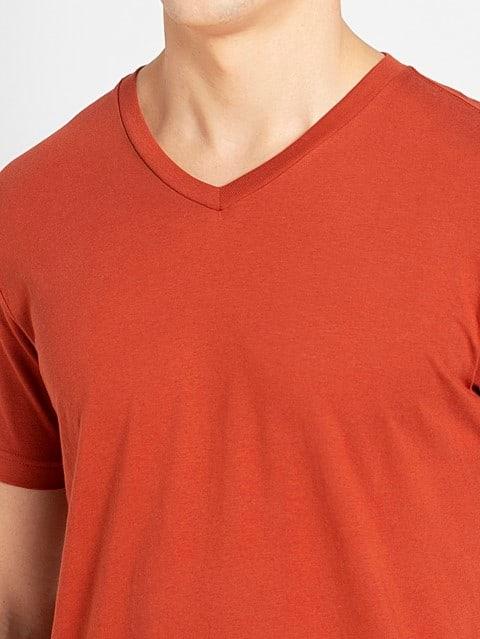 Cinnabar V-Neck T-shirt