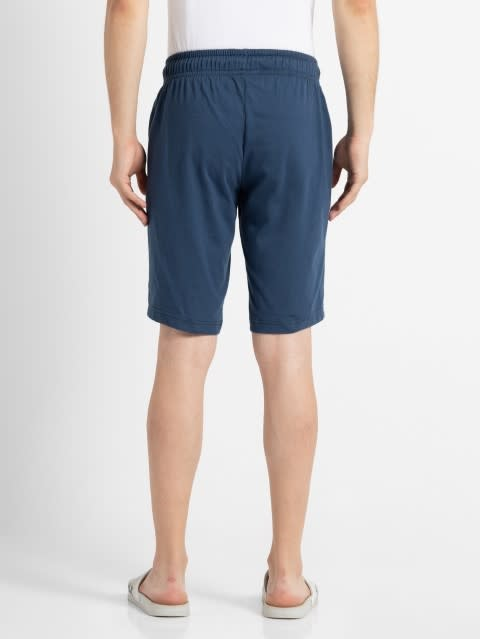 Insignia Blue Straight fit shorts