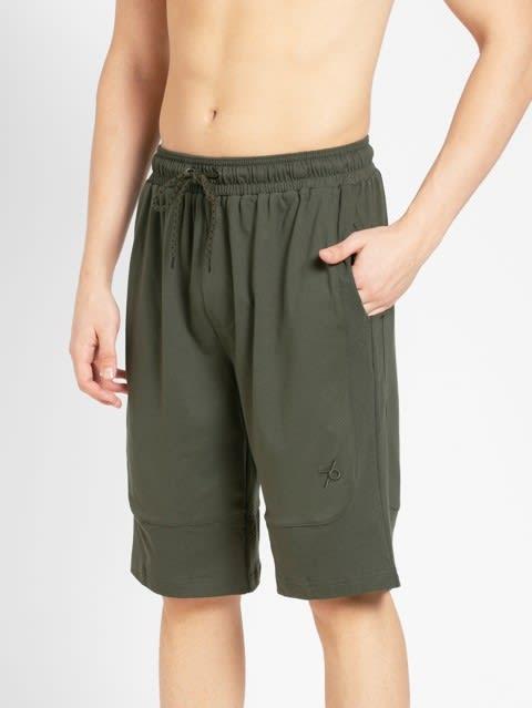 Deep Olive Shorts
