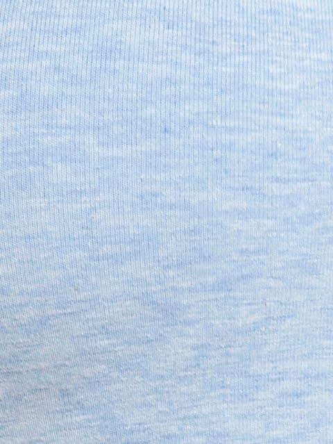 Sky Blue Melange Soft Cup Bra