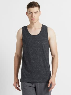 Black Snow Melange Tank Top