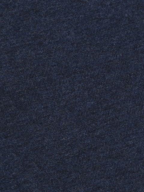 Ink Blue Melange Track Pant