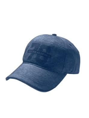 Navy Melange Cap
