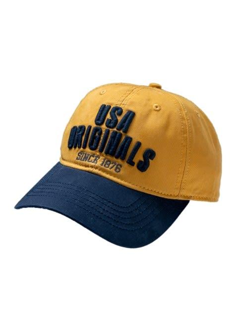 Ochre Yellow Cap