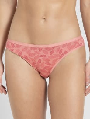 Peach Blossom Printed Bikini