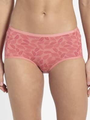 Peach Blossom Printed Full Brief