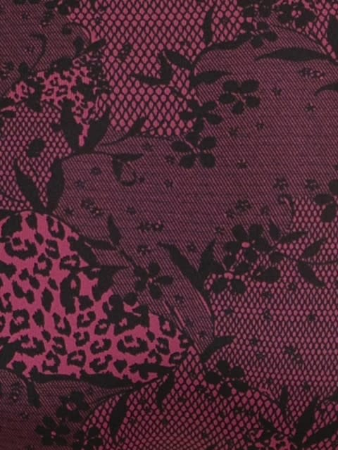 Pink Wine Printed Hipster