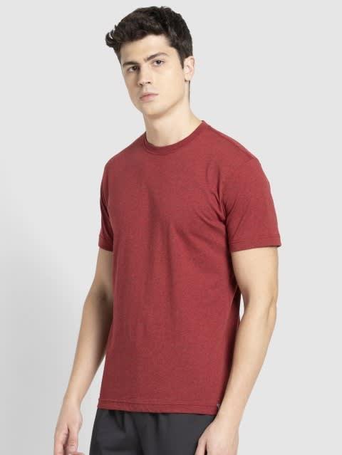 Red Melange Sport T-Shirt