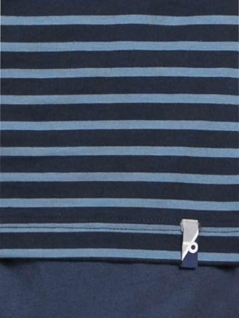 Navy & Steller Crew neck T-shirt