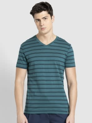 Pacific Green & Navy T-Shirt