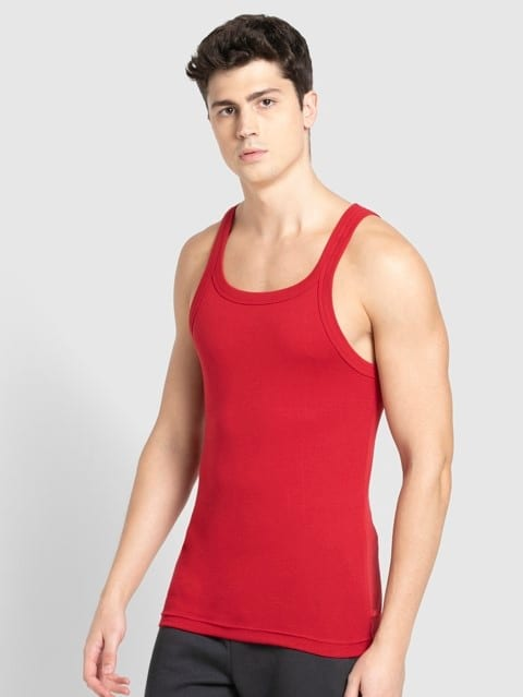 Chilli Pepper Square Neck Vest