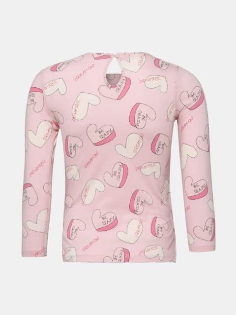 Pink Lady Printed Girls T-Shirt