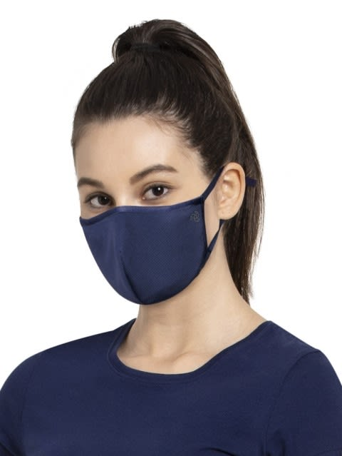 Imperial Blue Unisex Face Mask Pack of 2