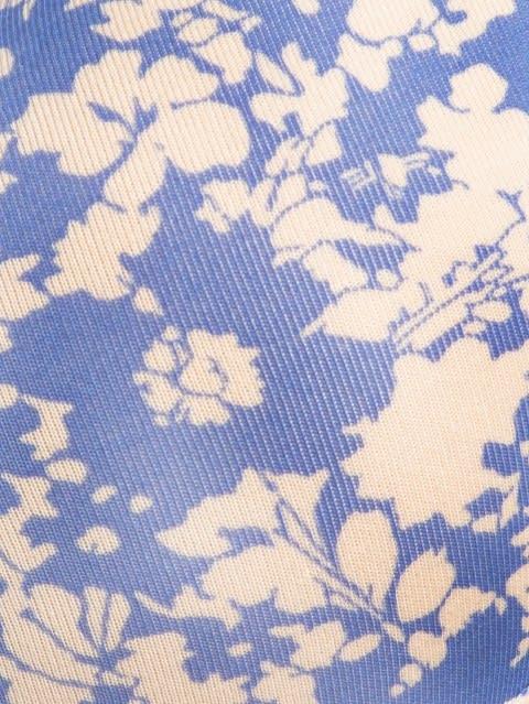 Iris Blue Printed T-Shirt Bra