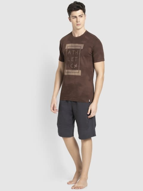 Chestnut Printed Sport T-Shirt