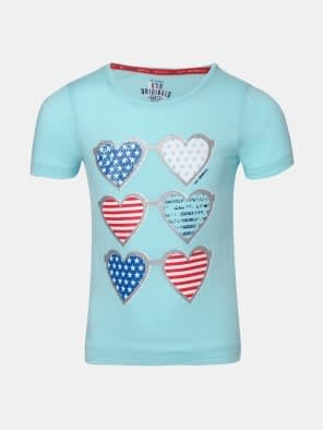 Blue Tint Girl's Graphic T-Shirt