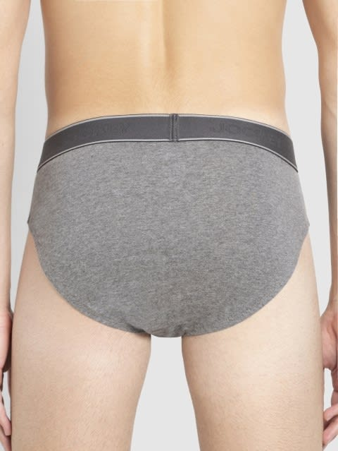 Mid Grey Melange & Estate Blue Fusion Brief