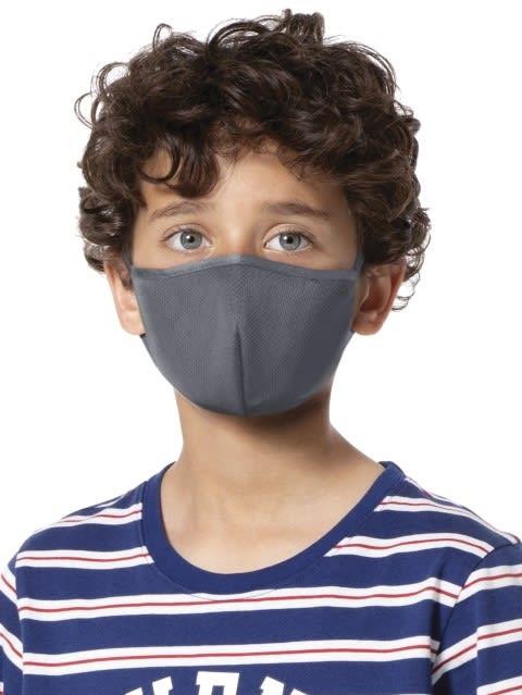Graphite Kids Unisex Face Mask Pack of 2
