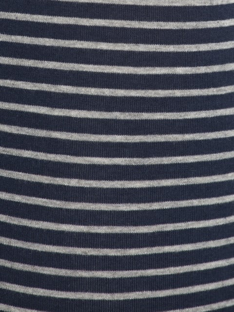 Navy & Grey Melange Des30 Yarn dyed Trunk