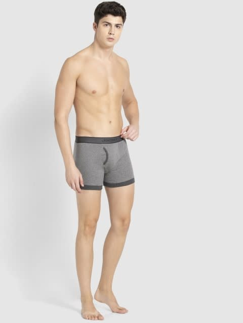 Mid Grey & Charcoal Boxer Brief Pack of 2