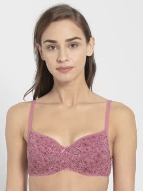 Heather Rose Printed Non-wired Padded Bra