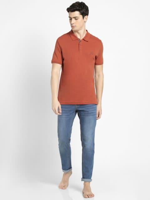 Cinnabar Sport Polo T-Shirt