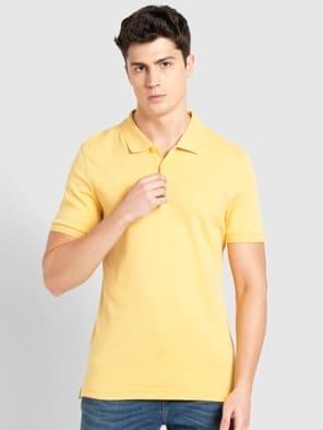 Corn Silk Polo T-Shirt