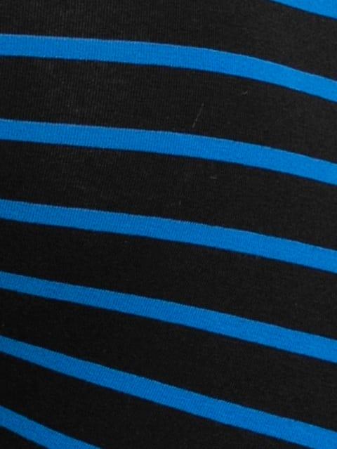 Black & Sky Driver Blue Striped Trunk