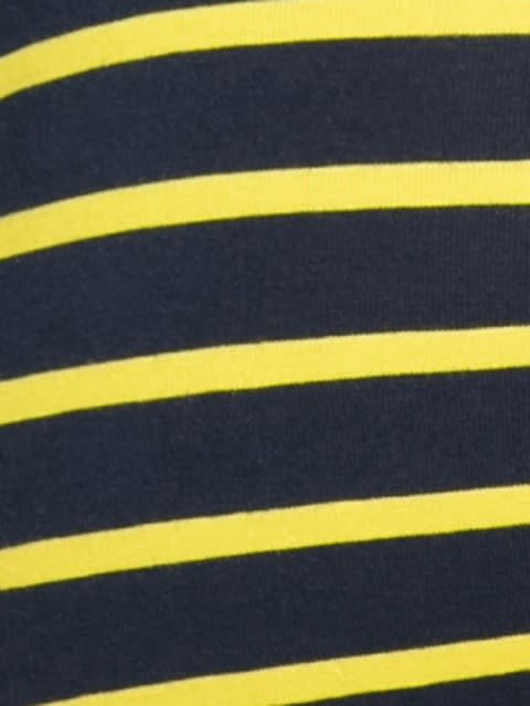 Navy Blue & Empire Yellow Striped Trunk