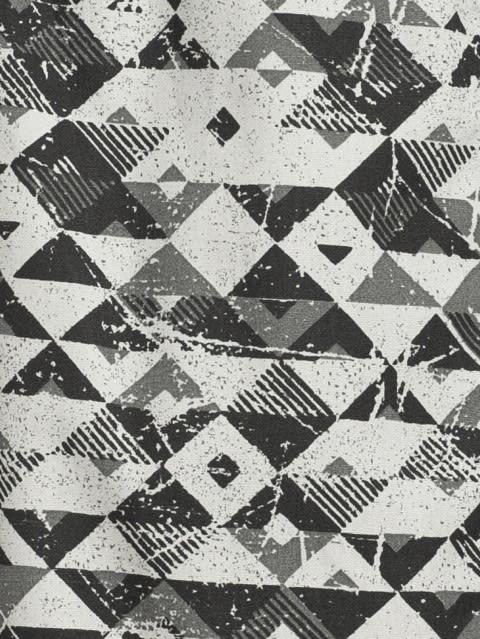 Black & Grey Print73 Boxer Shorts