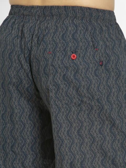 Navy Print49 Boxer Shorts