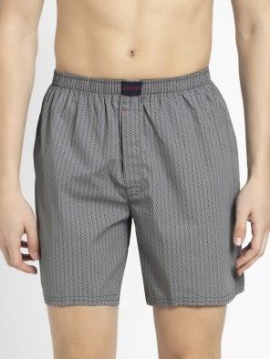 Navy Print57 Boxer Shorts