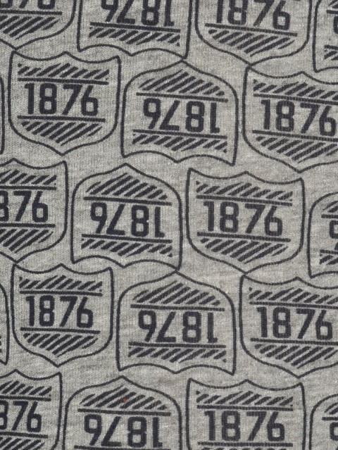 Navy Print 38 Printed Trunk