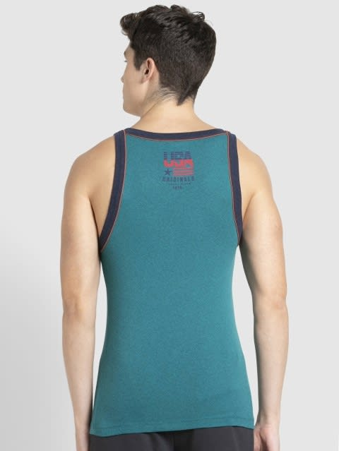 Harbor Blue Melange Vest