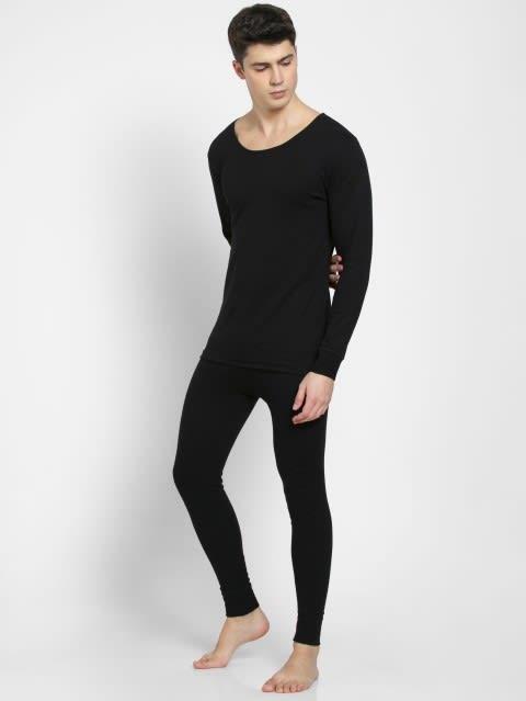 Black Thermal Long John