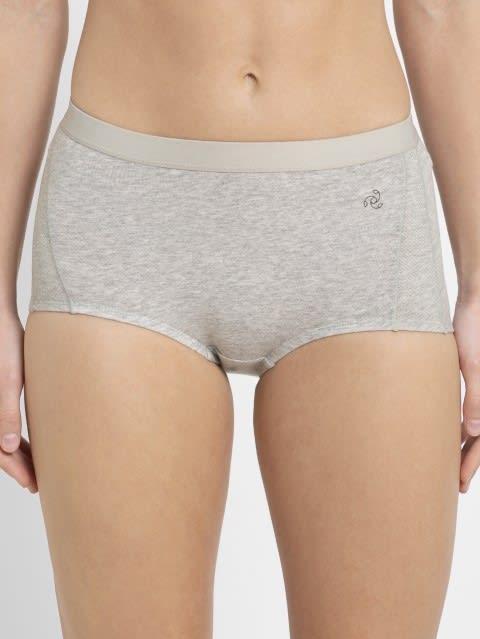 Light Grey Melange Active Panty