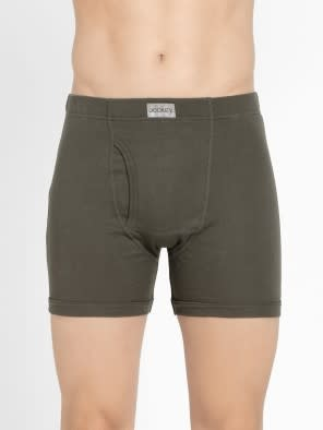 Deep Olive Boxer Brief