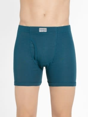 Seaport Teal Boxer Brief