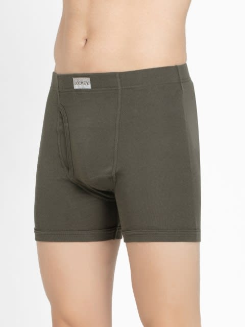 Deep Olive Boxer Brief Pack of 2