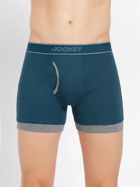 Reflecting Pond & Mid Grey Mel Boxer Brief Pack of 2