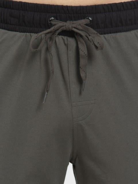 Deep Olive Sports Track Pant
