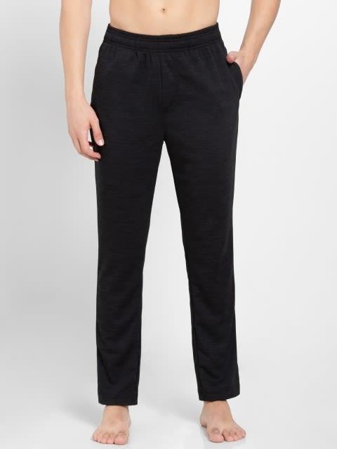 Black Track Pant