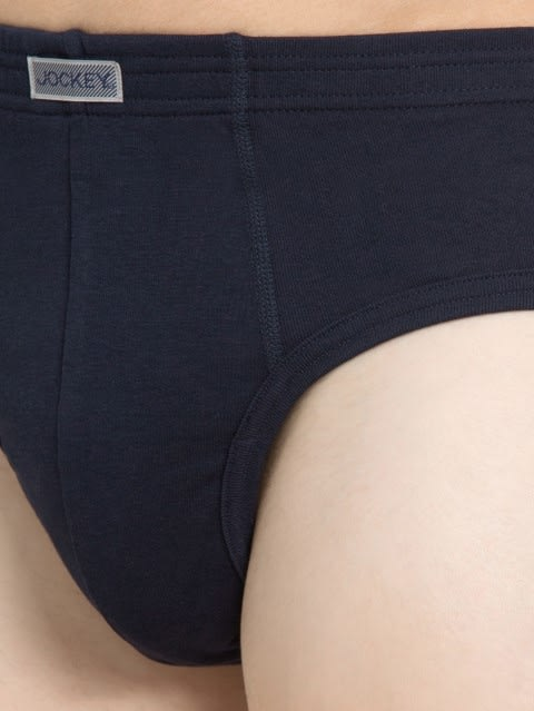 Deep Navy Contour Brief Pack of 2