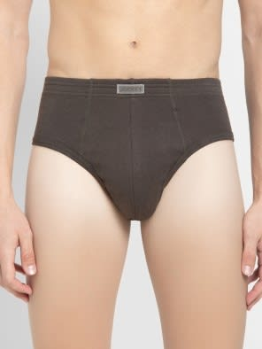 Deep Olive Contour Brief Pack of 2