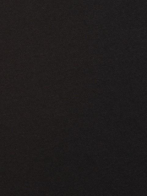 Black Knit Capri
