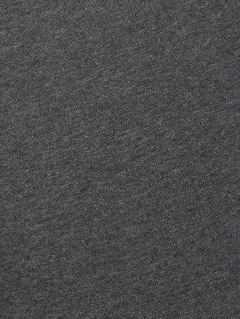 Charcoal Melange Knit Capri